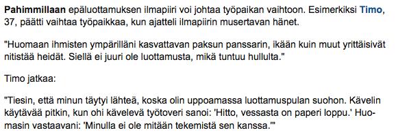 Petri Maenpaan Timo puhuu