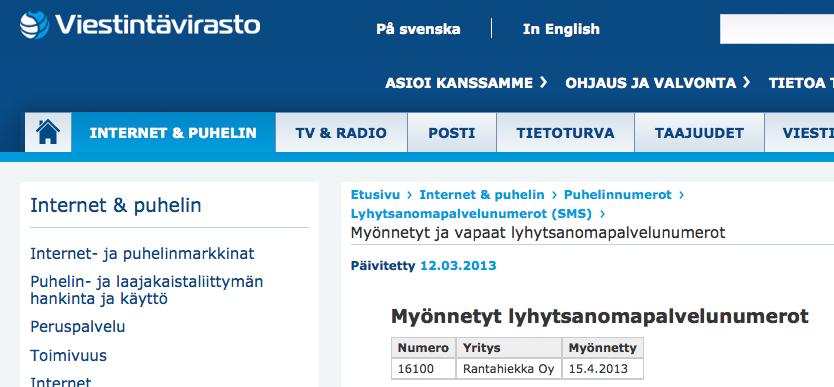 Suomen 16100 Oy