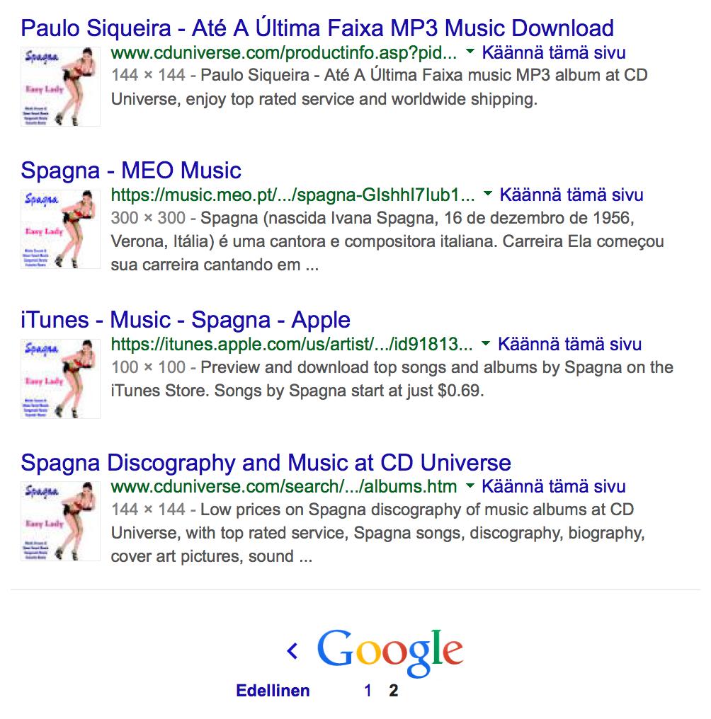 Nina Google kuvahaku