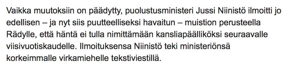 Jussi Niinisto tekstari