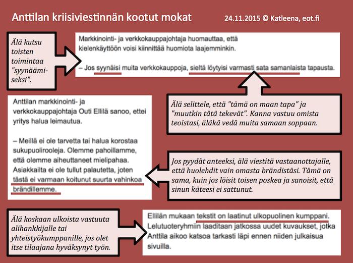 Anttila kriisiviestinta