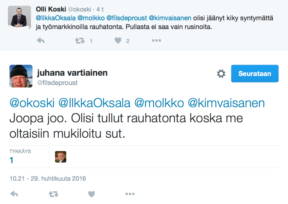 Koski-vartiainen Twitter